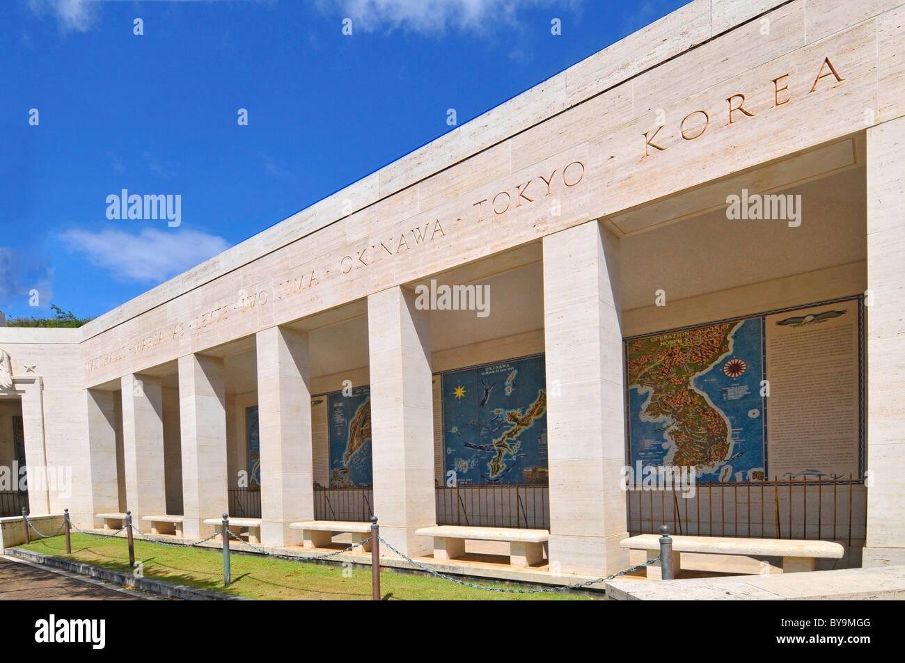 Map Galleries Punchbowl National Memorial Cemetery Honolulu Hawaii
