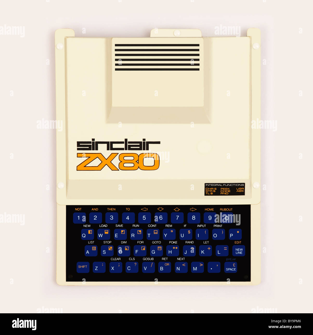 1980 Computer Stock Photos Images Alamy Zx80 Circuit Diagram Sinclair Personal From Image
