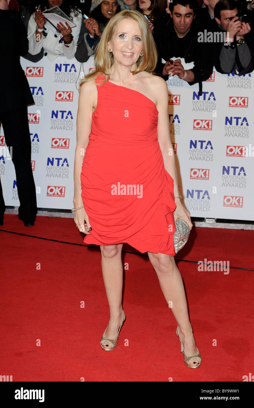 Gillian McKeith attends the National Television Awards at the 02, London, 26th January 2011. - Stock Image