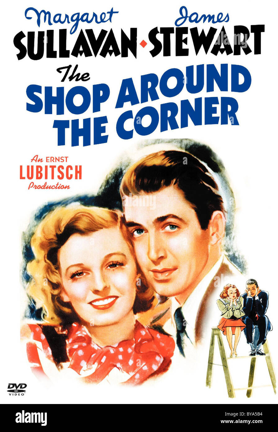 The Shop around the Corner Year : 1940 USA Director : Ernst Lubitsch Movie poster (USA) - Stock Image