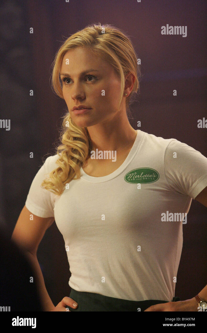 True Blood TV Series 2008 - ???? USA 2008 Season 01 - Episode 01: Strange Love Director: Alan Ball Anna Paquin - Stock Image