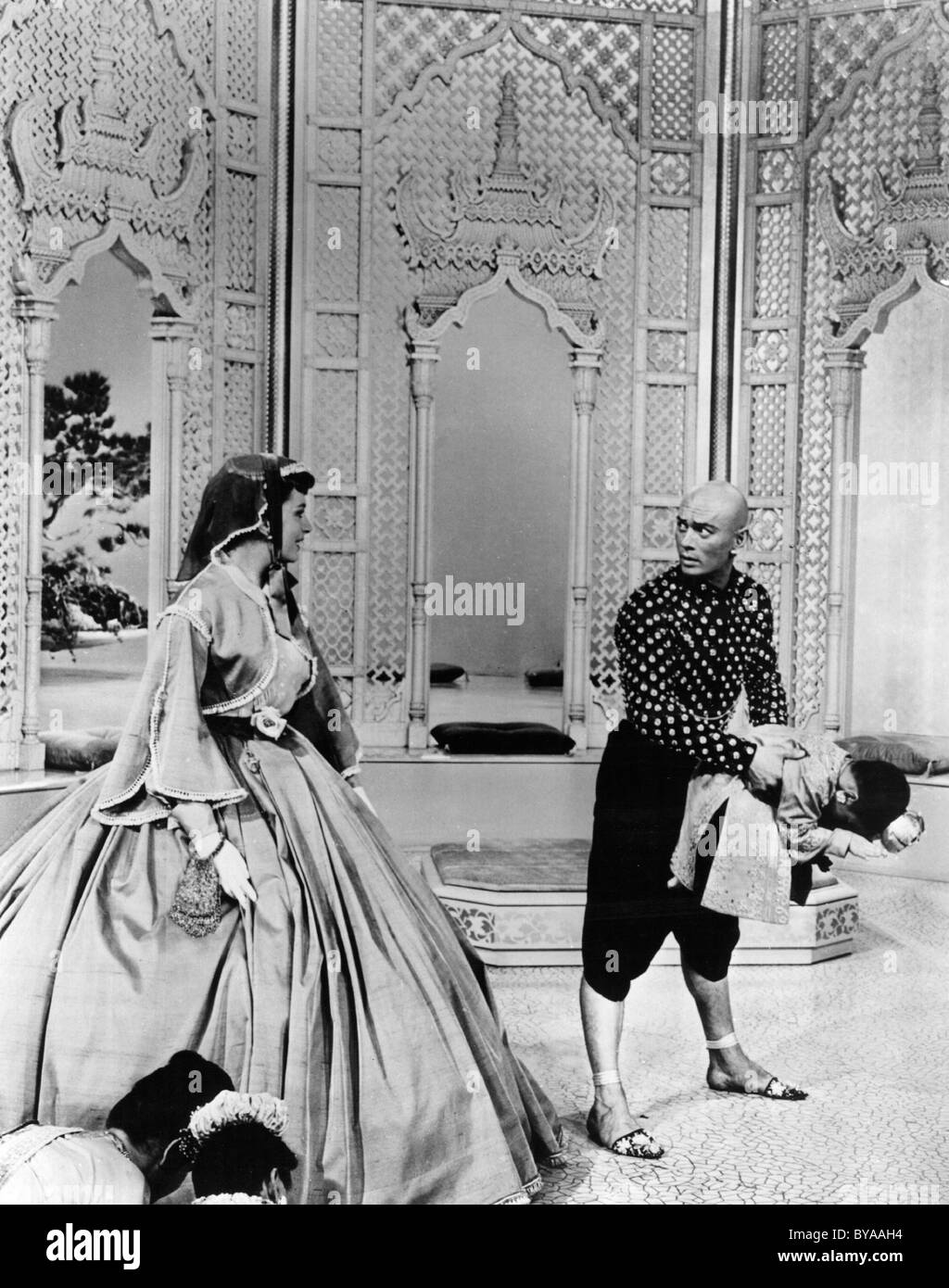 The King and I Year : 1956 USA Director : Walter Lang Deborah Kerr, Yul Brynner - Stock Image