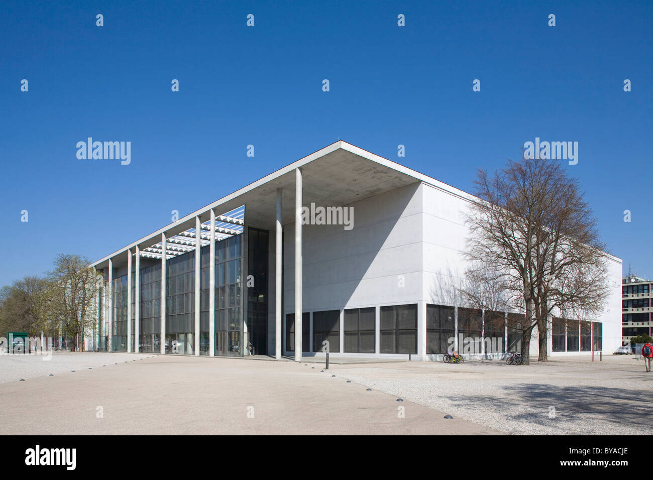 Pinakothek der Moderne, art museum in the Maxvorstadt district, Munich, Bavaria, Germany, Europe Stock Photo