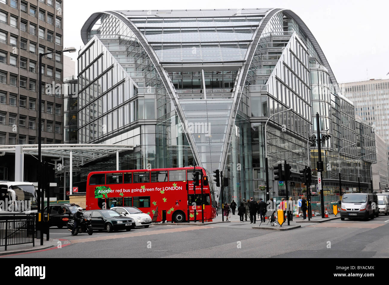 Modern Architecture In Victoria Street, London, England