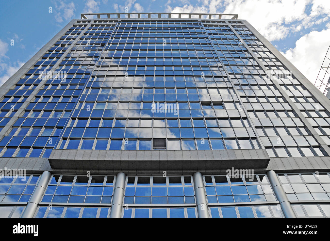 Evonik Industries AG, energy company, corporate head office, registered office, Essen, Ruhr area, North Rhine-Westphalia - Stock Image