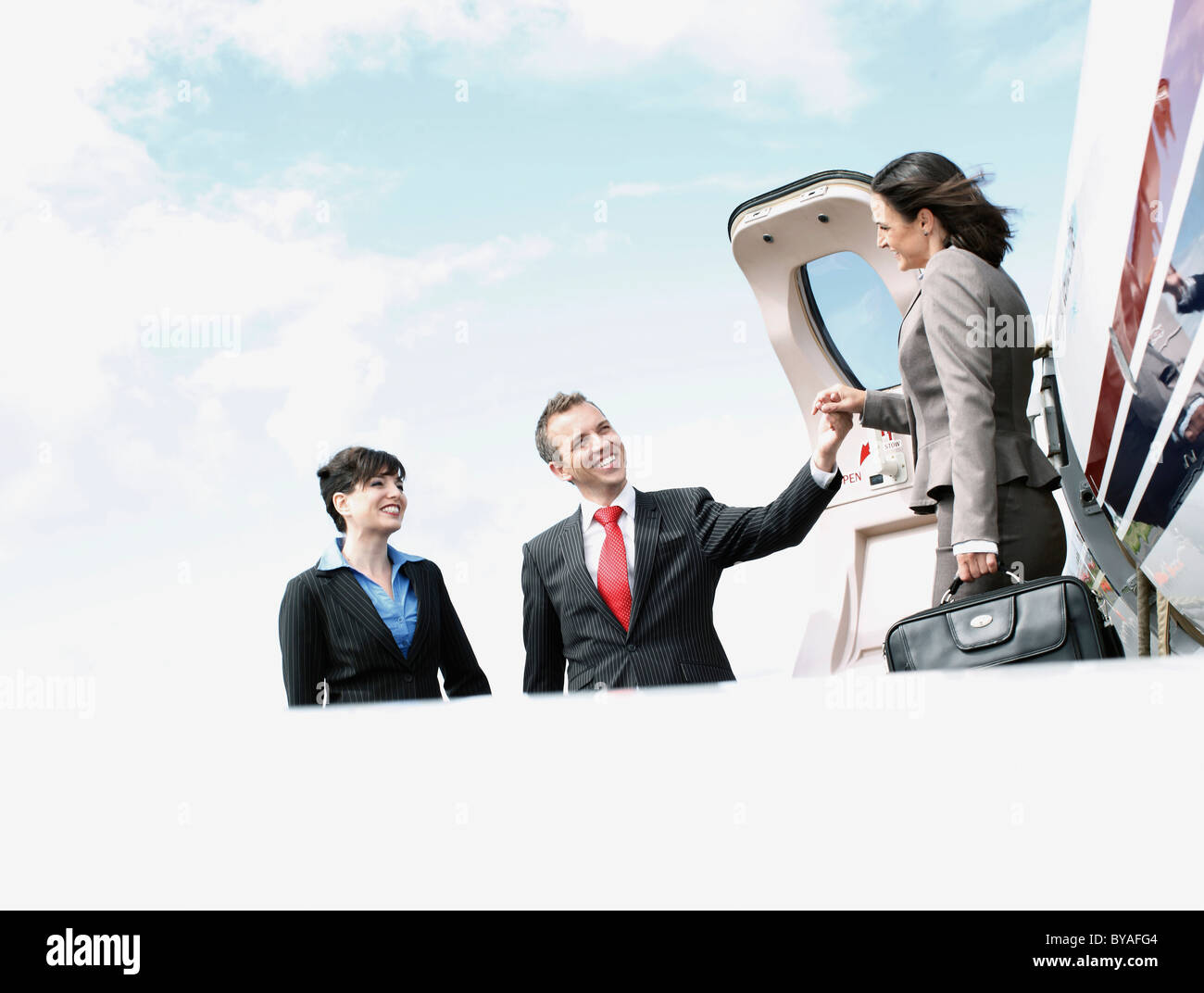 Business Executives - Stock Image