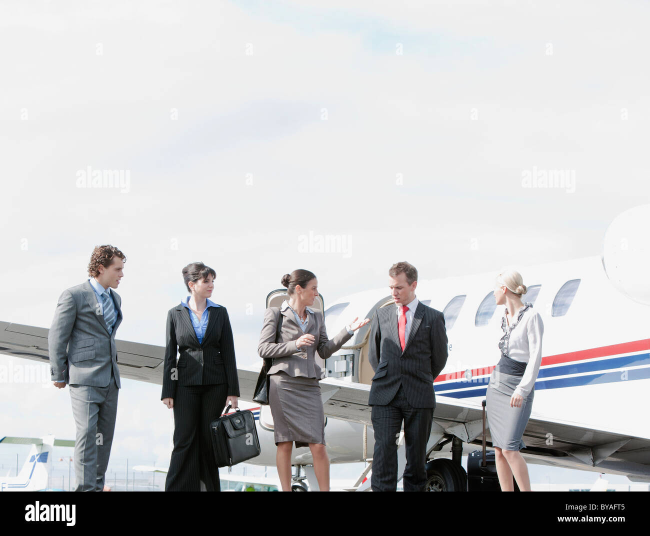 Group of business executives - Stock Image