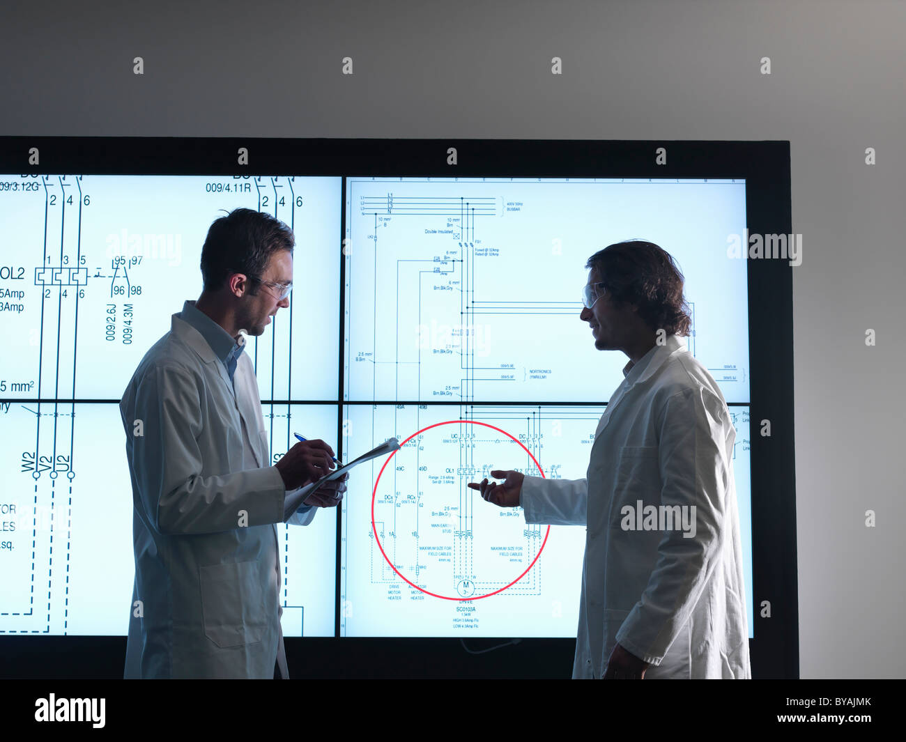 Design Diagram Stock Photos Images Alamy Glass On The Electronic Schematic Diagramideal Technology Background Scientist With Diagrams Screen Image