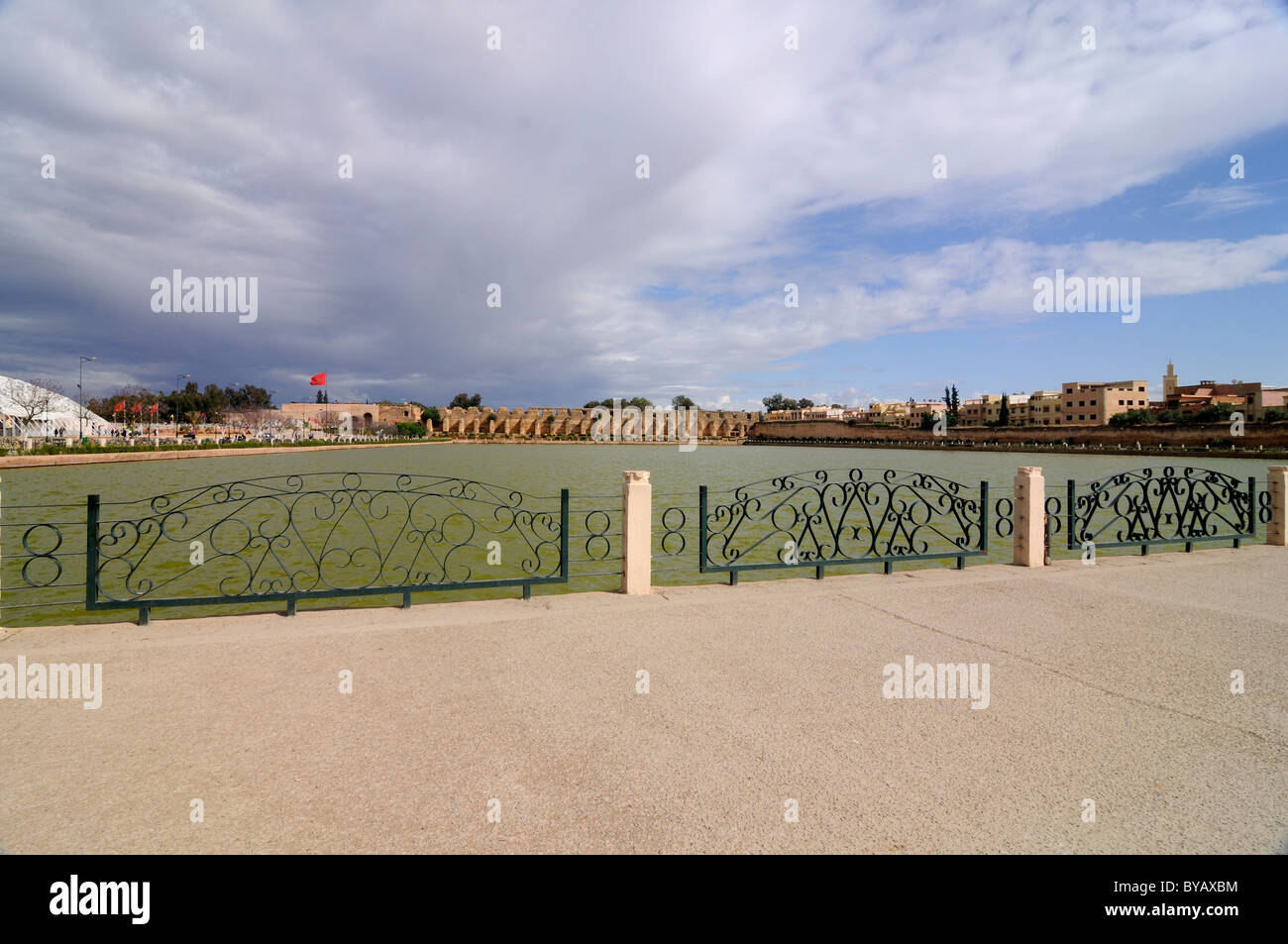 The Meknes Agdal basin, Morocco, Africa Stock Photo