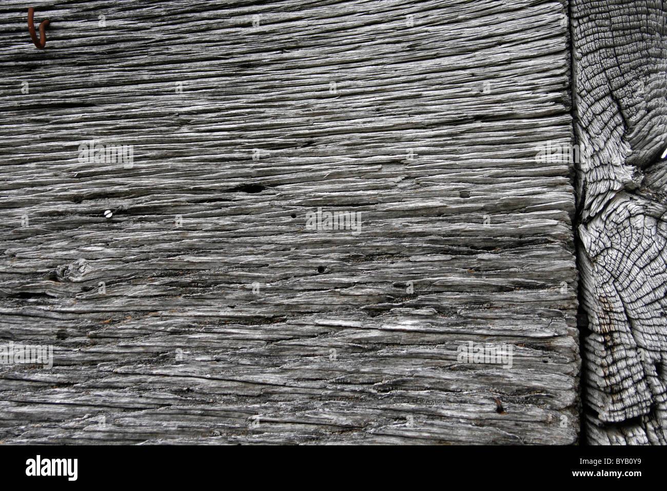 Weathered wood - Stock Image