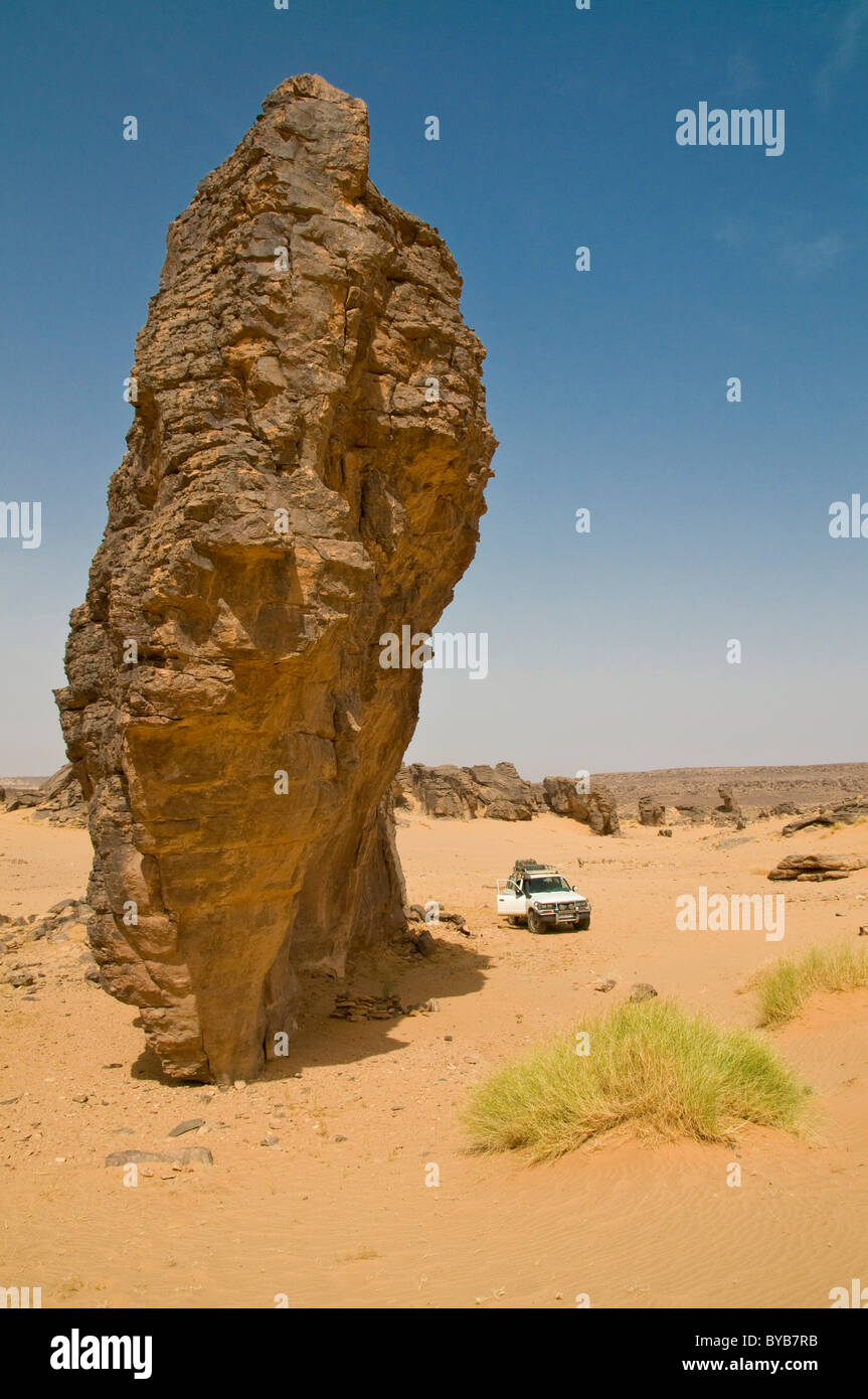 Rock formation, Tasset, Algeria, Africa - Stock Image