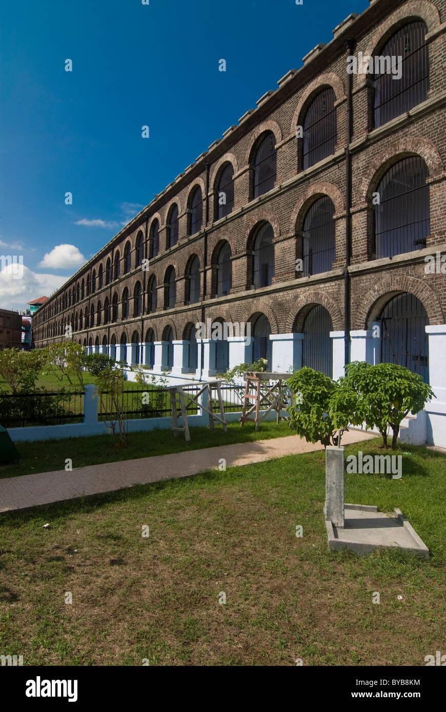 Former prison, Port Blair, Andaman Islands, India, Asia - Stock Image