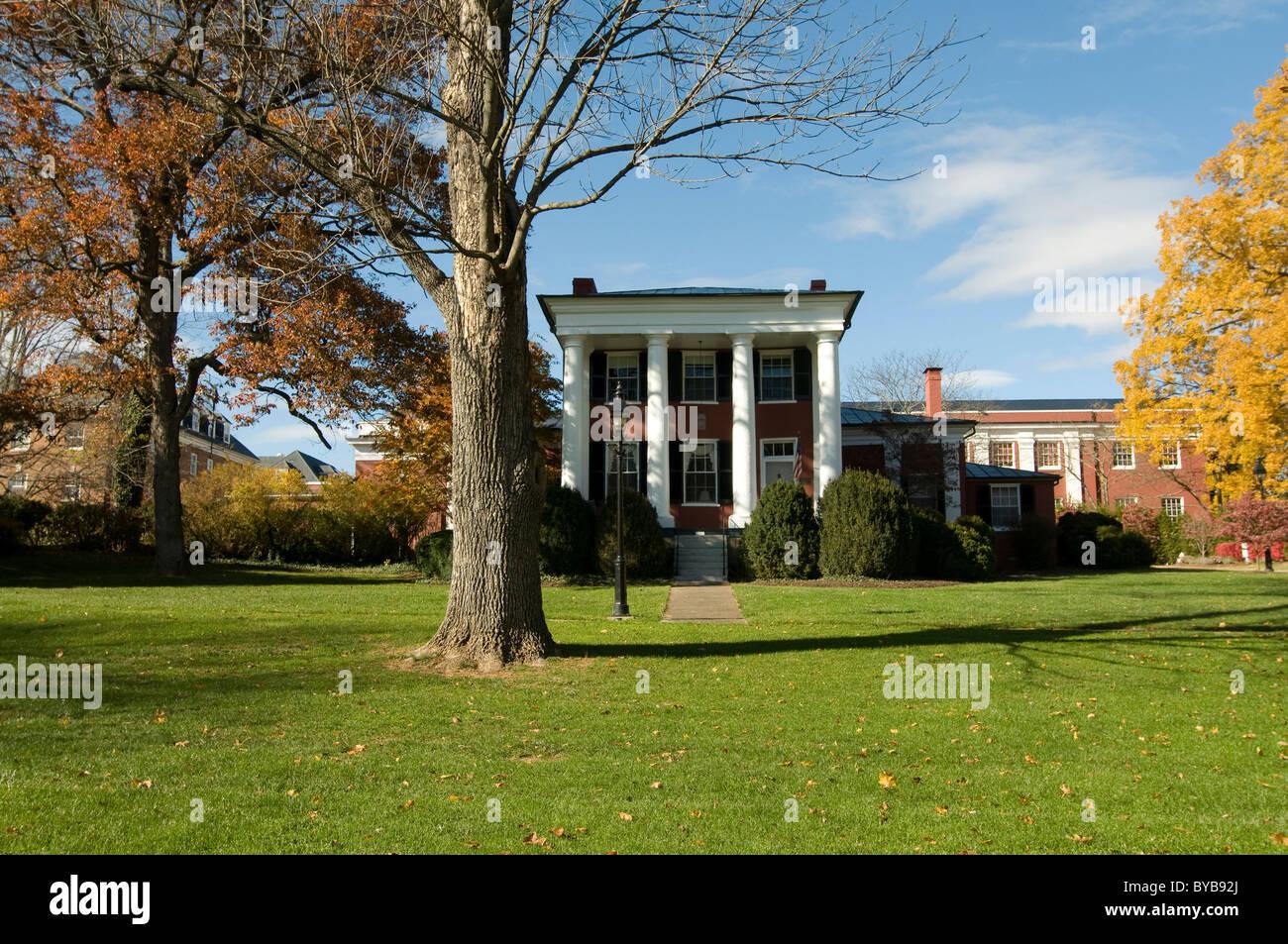 Campus of Washington and Lee University, Lexington, North Carolina, United States of America, Amerika Stock Photo