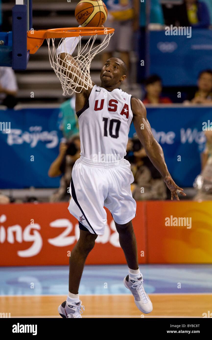 Russia vs USA 2008 Olympics Men's Basketball Exhibition ...