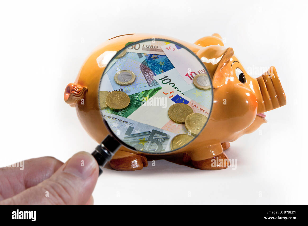 Symbolic image for saving money - Stock Image