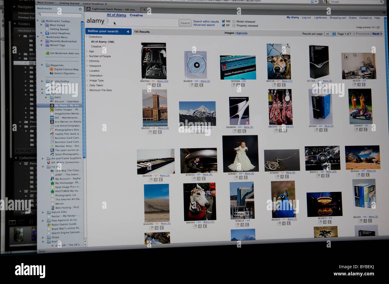 Alamy stock photography website Stock Photo