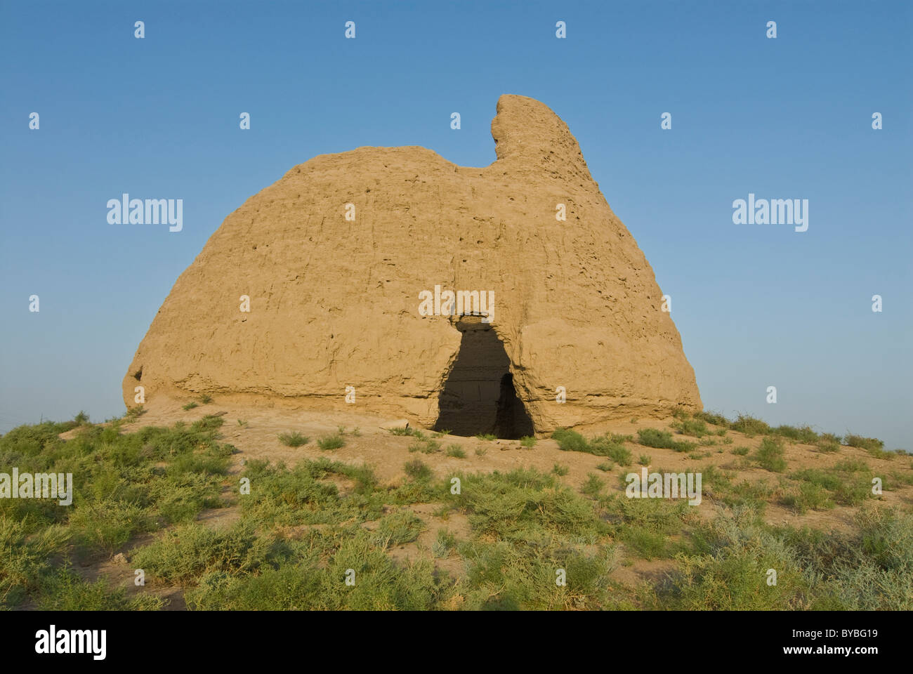 Former ice house, Merv, Turkmenistan, Central Asia - Stock Image