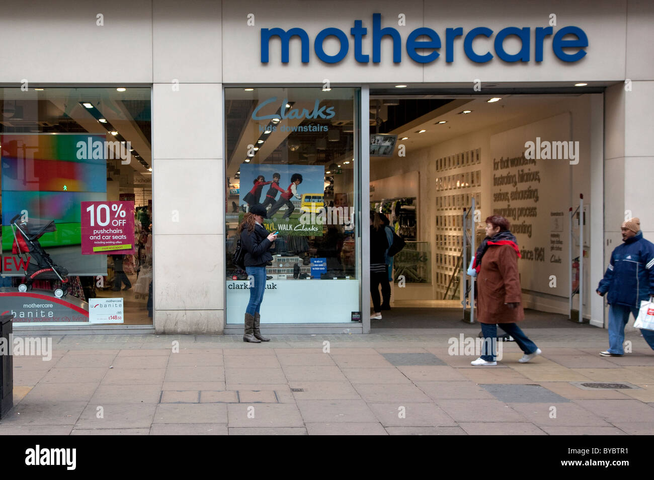 Branch of Mothercare, Oxford Street, London - Stock Image