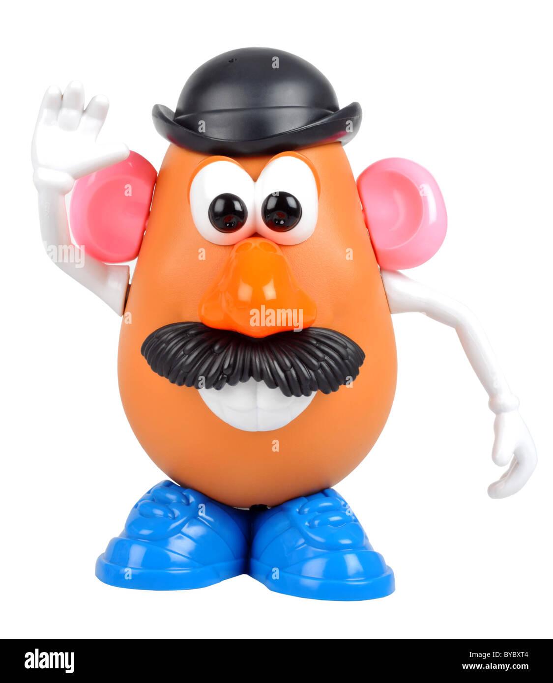 Mr Potato Head Toy Mr Potatohead On A White Background