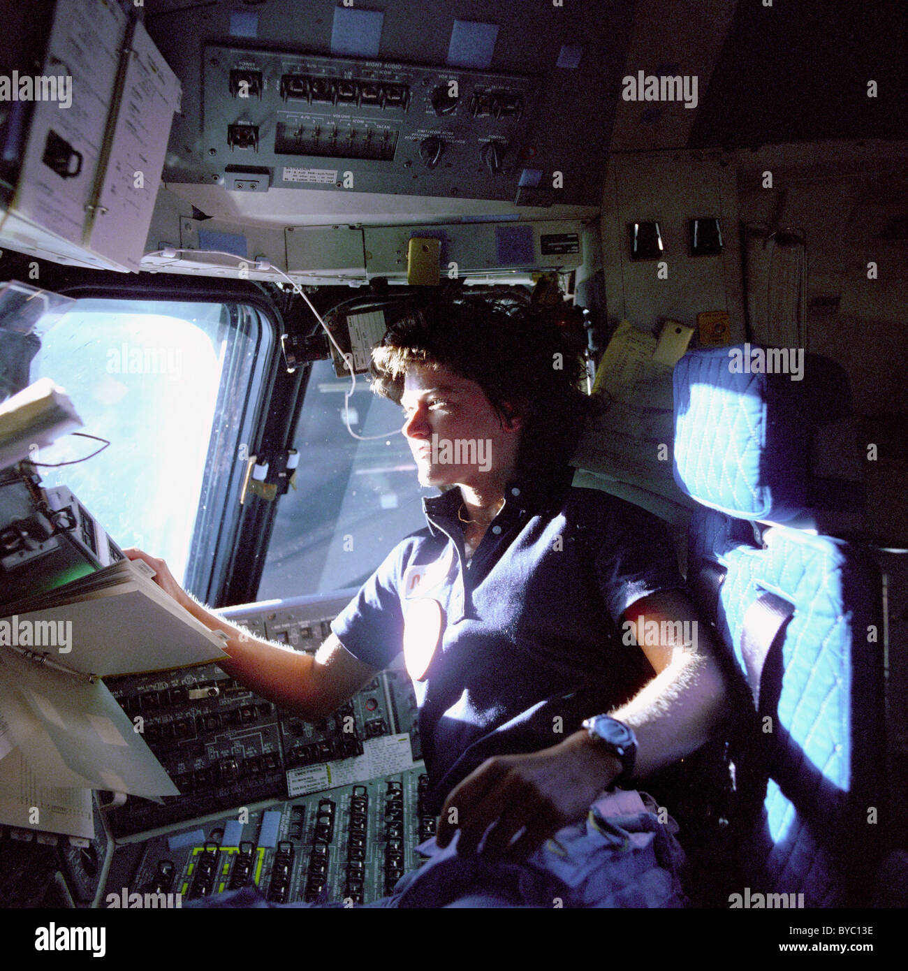 Astronaut Sally K. Ride - Stock Image