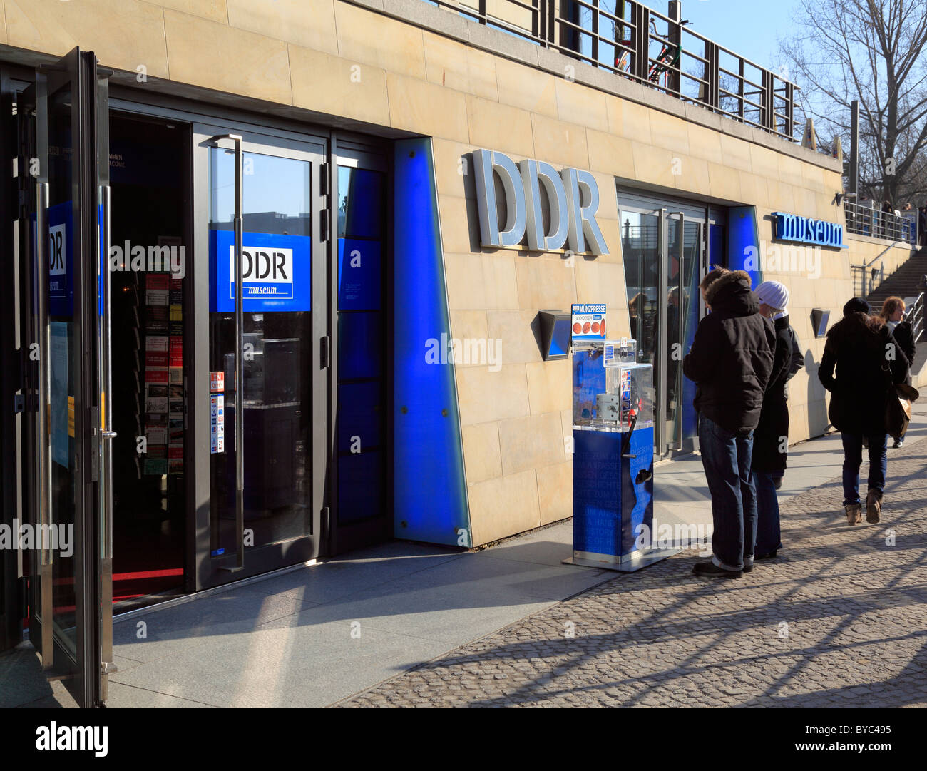 DDR Museum, Berlin, Germany - Stock Image