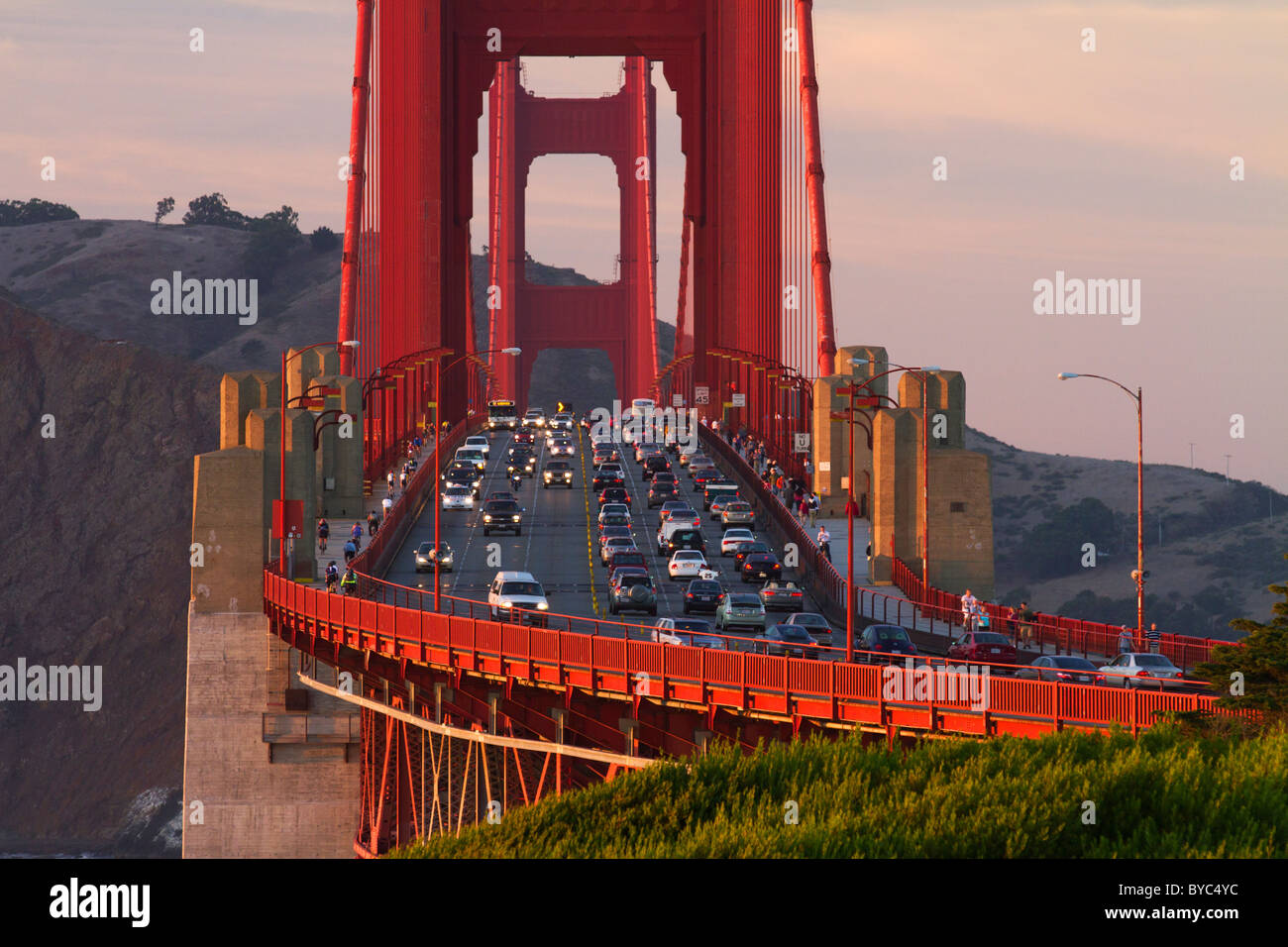 Golden Gate Bridge, San Francisco, CA - Stock Image
