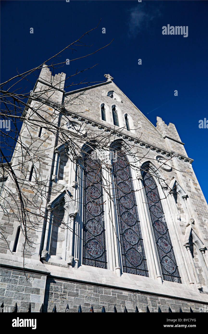 Saint Patrick's Cathedral Dublin Ireland - Stock Image