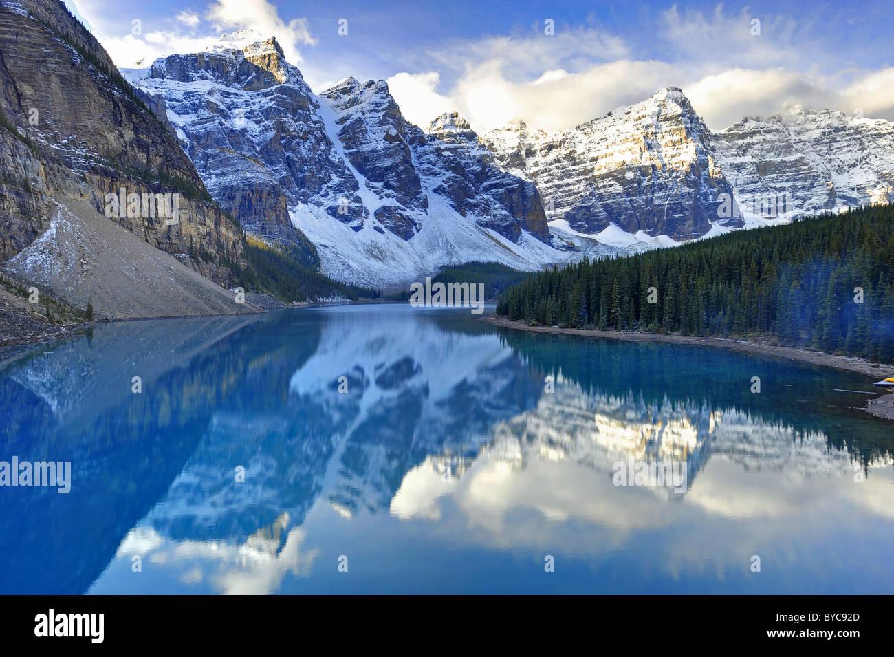 Morraine Lake, Alberta, Canada Stock Photo