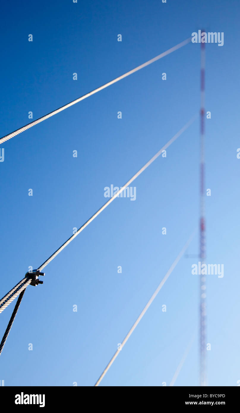 Guy Wires Stock Photos & Guy Wires Stock Images - Alamy