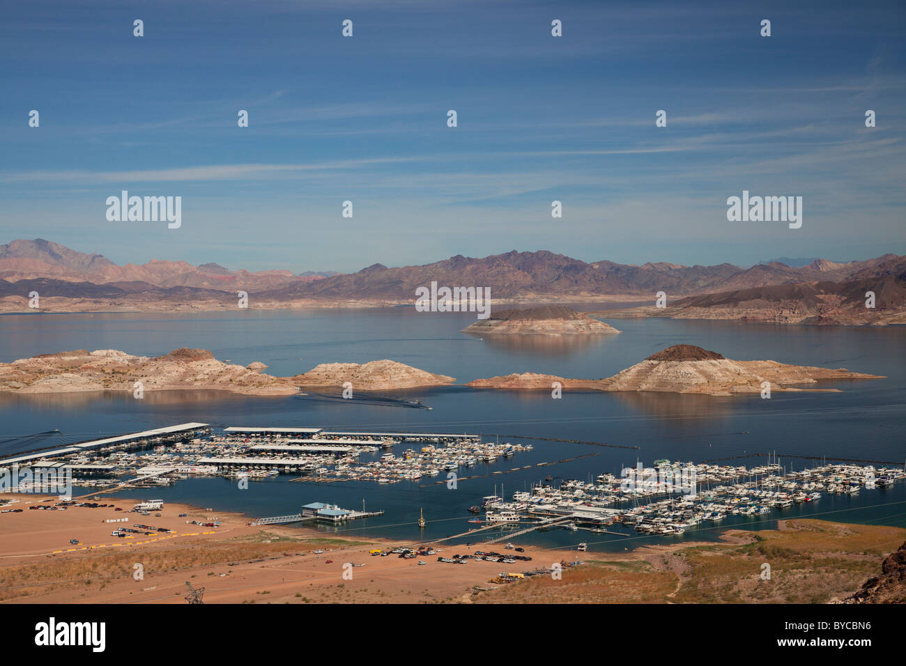 Lake Mead, Lake Mead National Recreation Area, Nevada Stock Photo