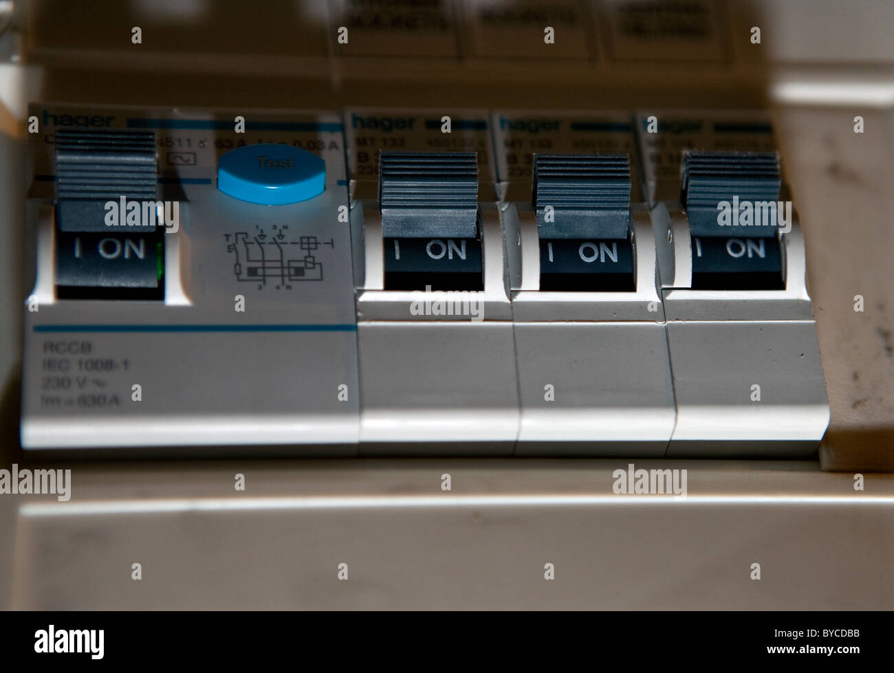 Electric Circuit Breaker Stock Photos Pictures Image