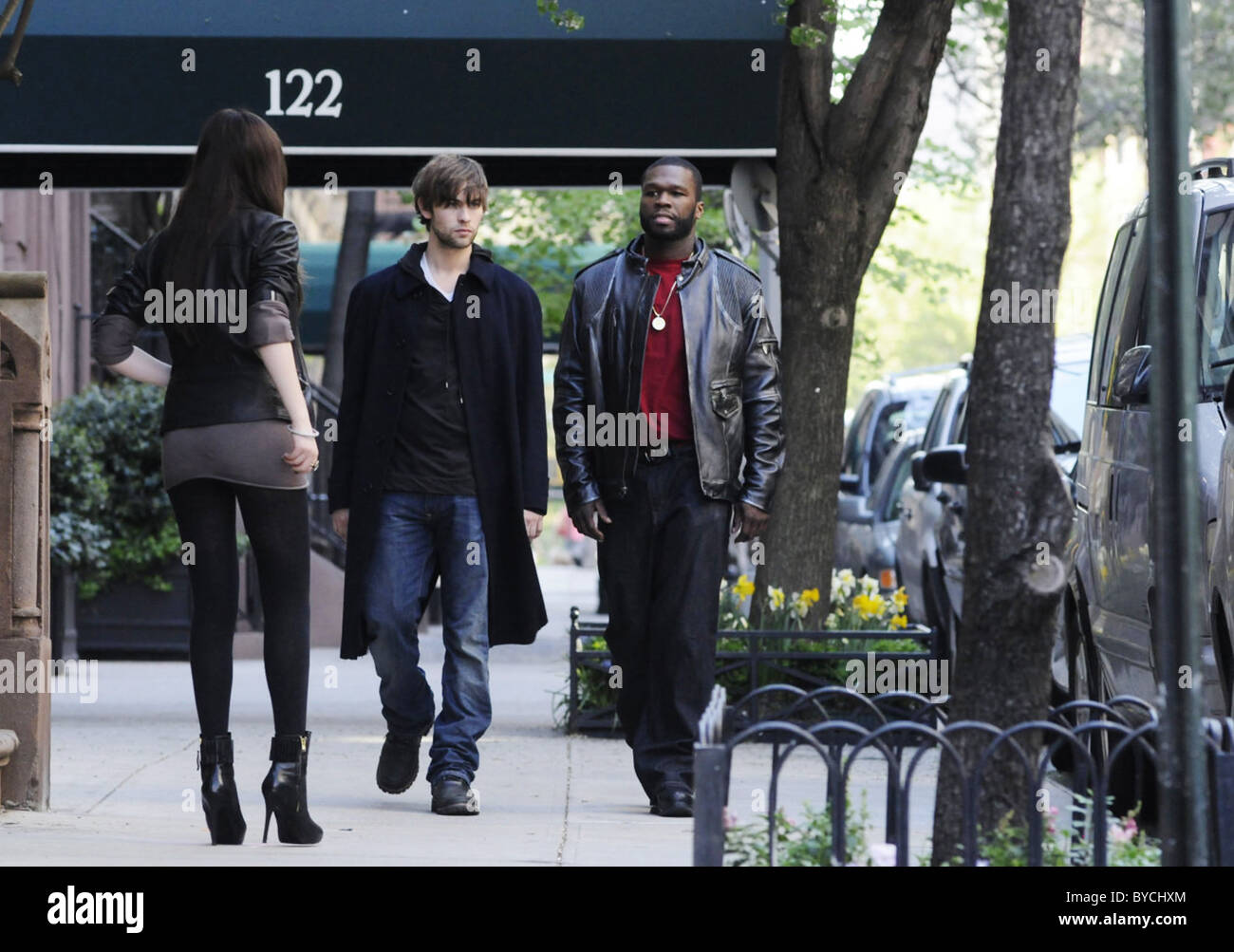 TWELVE (2010) CHACE CRAWFORD 50 CENT JOEL SCHUMACHER (DIR) 001 MOVIESTORE COLLECTION LTD - Stock Image