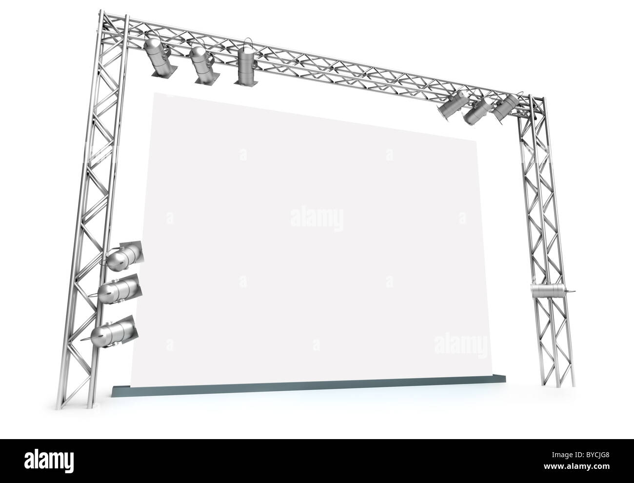 Large screen - Stock Image
