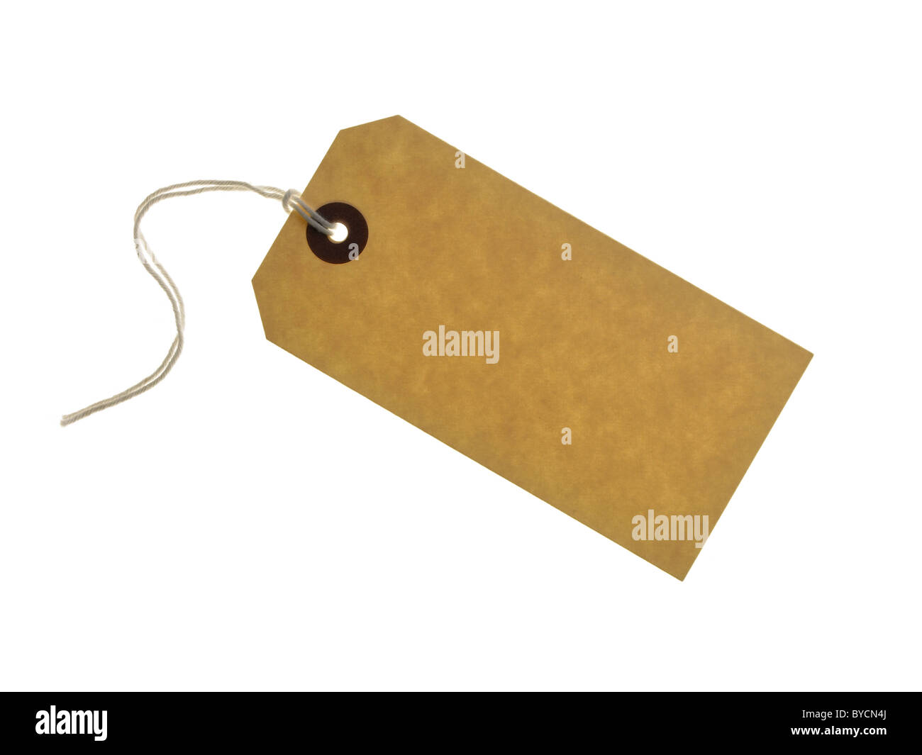 blank label - Stock Image