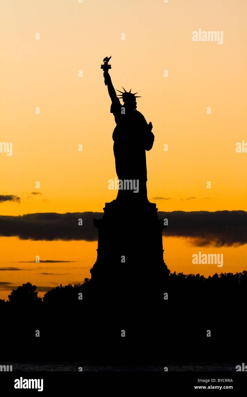 Statue of Liberty. - Stock Image