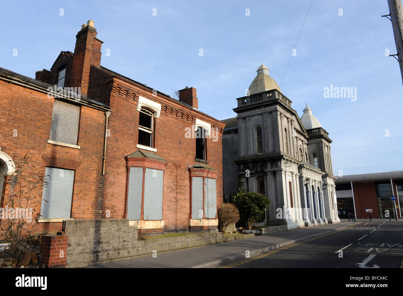 Willenhall in the West Midlands England Uk - Stock Image