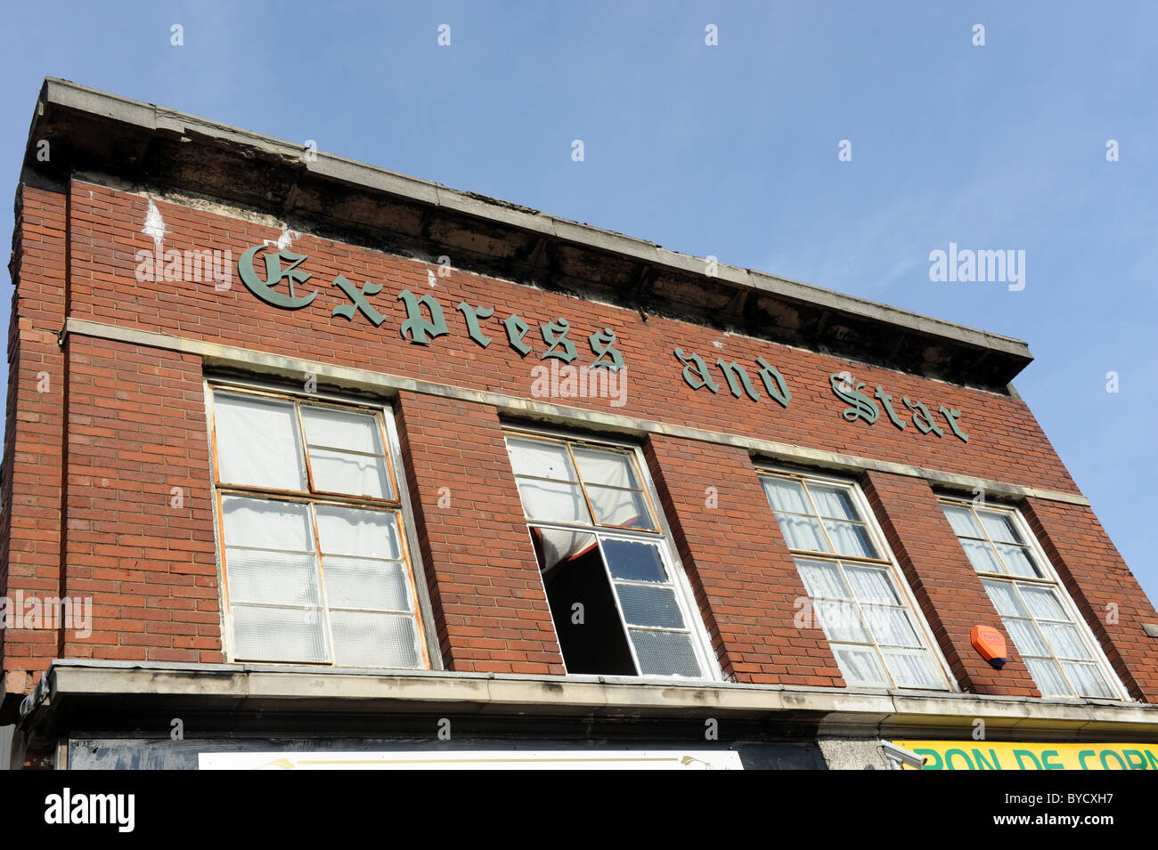 Bilston in the West Midlands England Uk former Express and Star newspaper offices - Stock Image