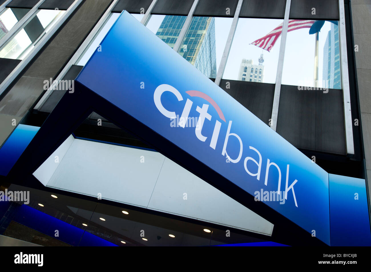 Citibank The Stock Photos Images Alamy Wiring Instructions For New York Usa Image