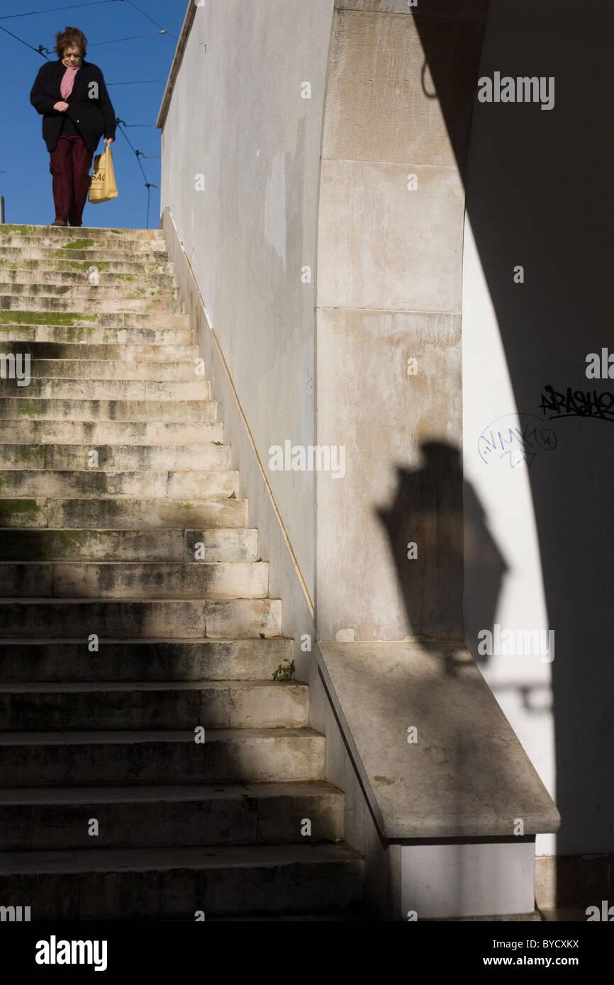 Alfama, Lisbon, Portugal Stock Photo