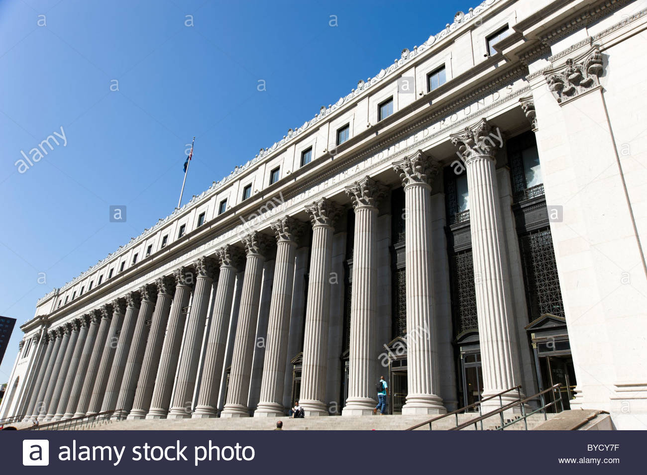 The General Post Office, New York City, USA Stock Photo