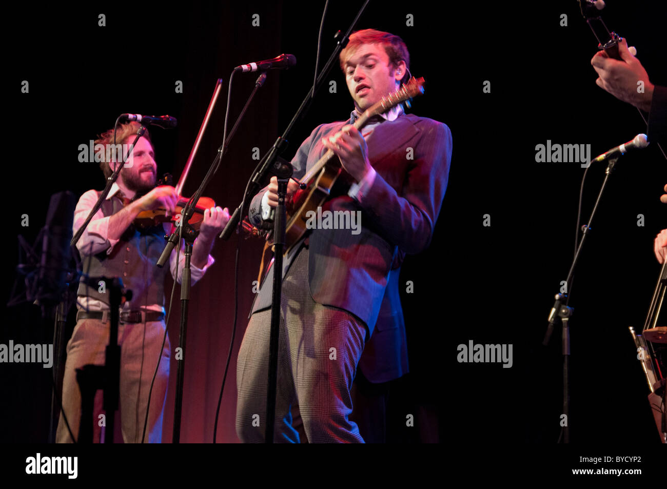 Punch Brothers at the Somerville Theatre, Somerville, MA - Stock Image