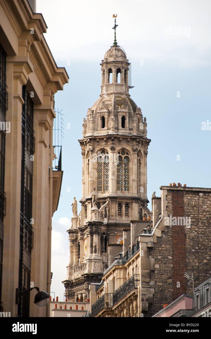 Paris Église de la Sainte-Trinité in 9th arrondissement - Stock Image
