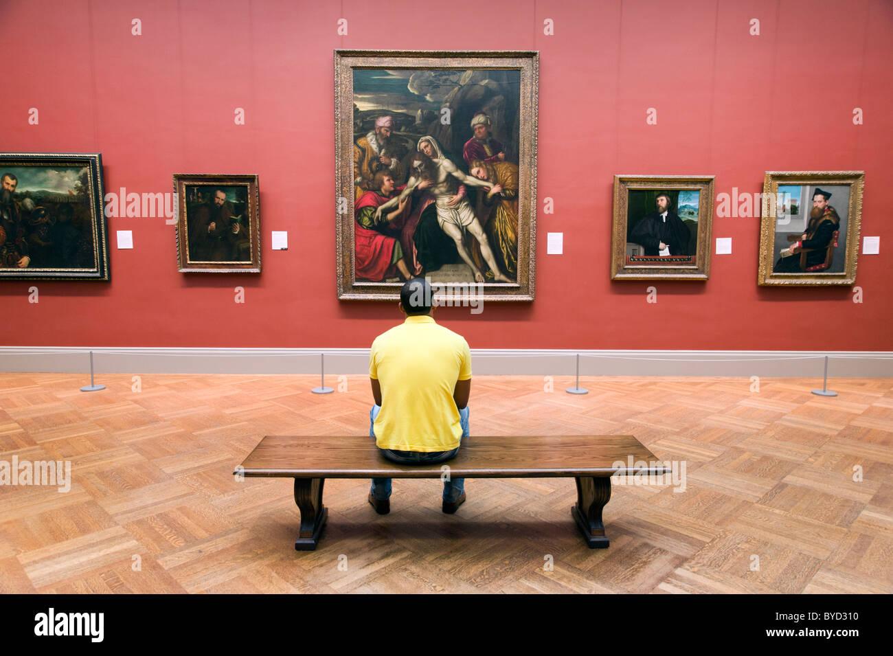 The Metropolitan Museum of Art, New York City, USA - Stock Image