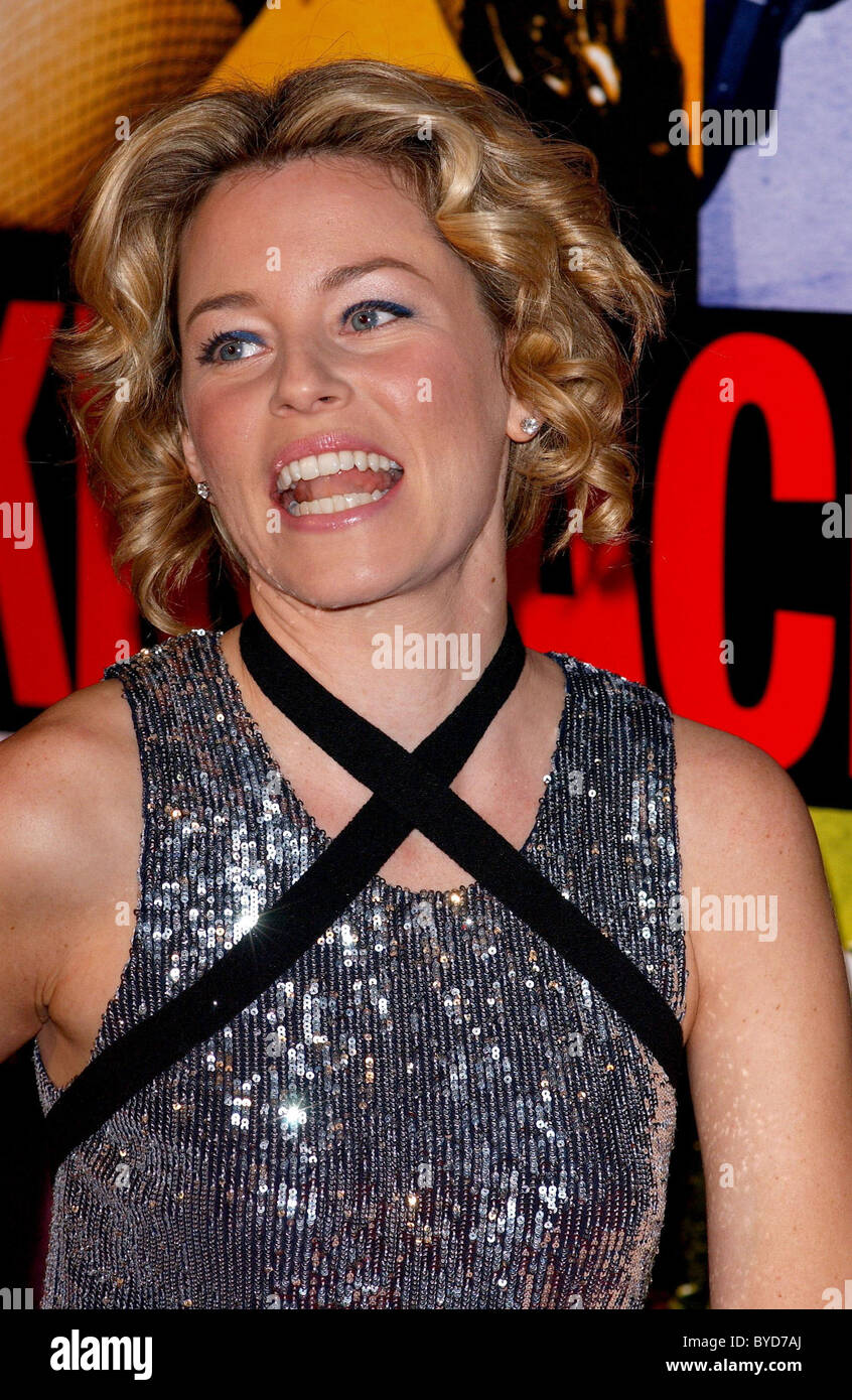 Elizabeth Banks Los Angeles Premiere of 'Smokin' Aces' held at the Grauman's Chinese Theatre - Arrivals - Stock Image