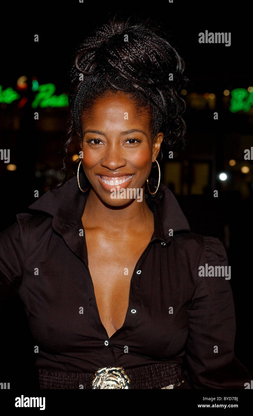 Shondrella Avery Los Angeles Premiere of 'Smokin' Aces' held at the Grauman's Chinese Theatre - - Stock Image