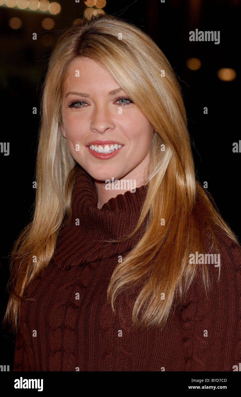Nicole Andrews Los Angeles Premiere of 'Smokin' Aces' held at the Grauman's Chinese Theatre - Arrivals - Stock Image