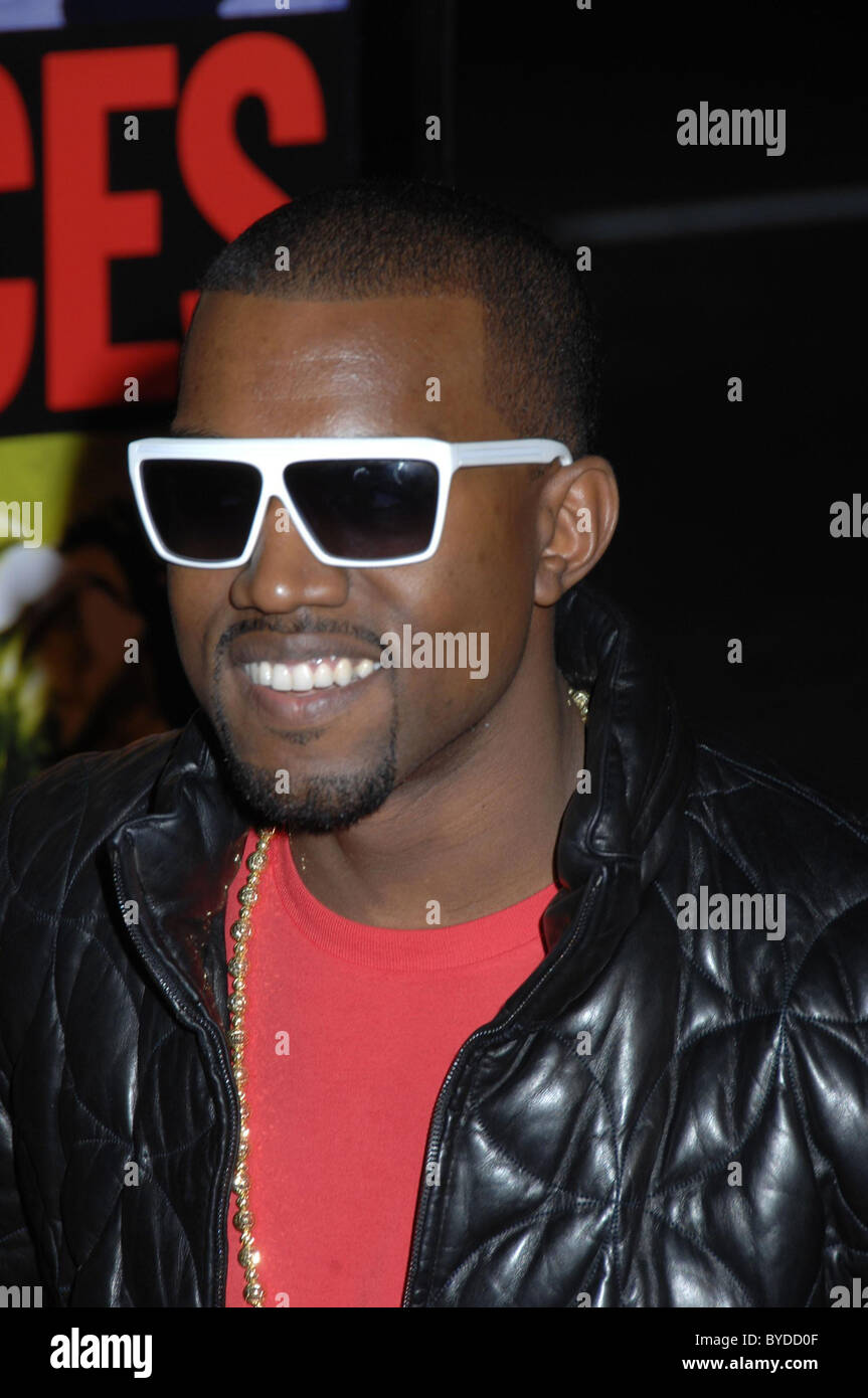 Kanye West World Premiere of 'Smokin' Aces' held at the Grauman's Chinese Theatre Hollywood, California - Stock Image