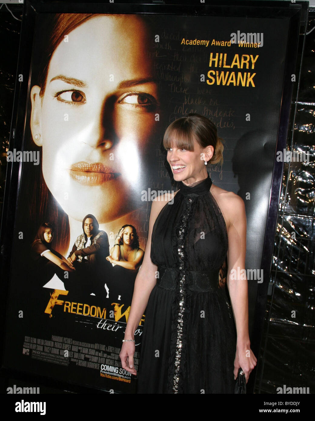 Hilary Swank The Los Angeles Premiere Of Freedom Writers Held At