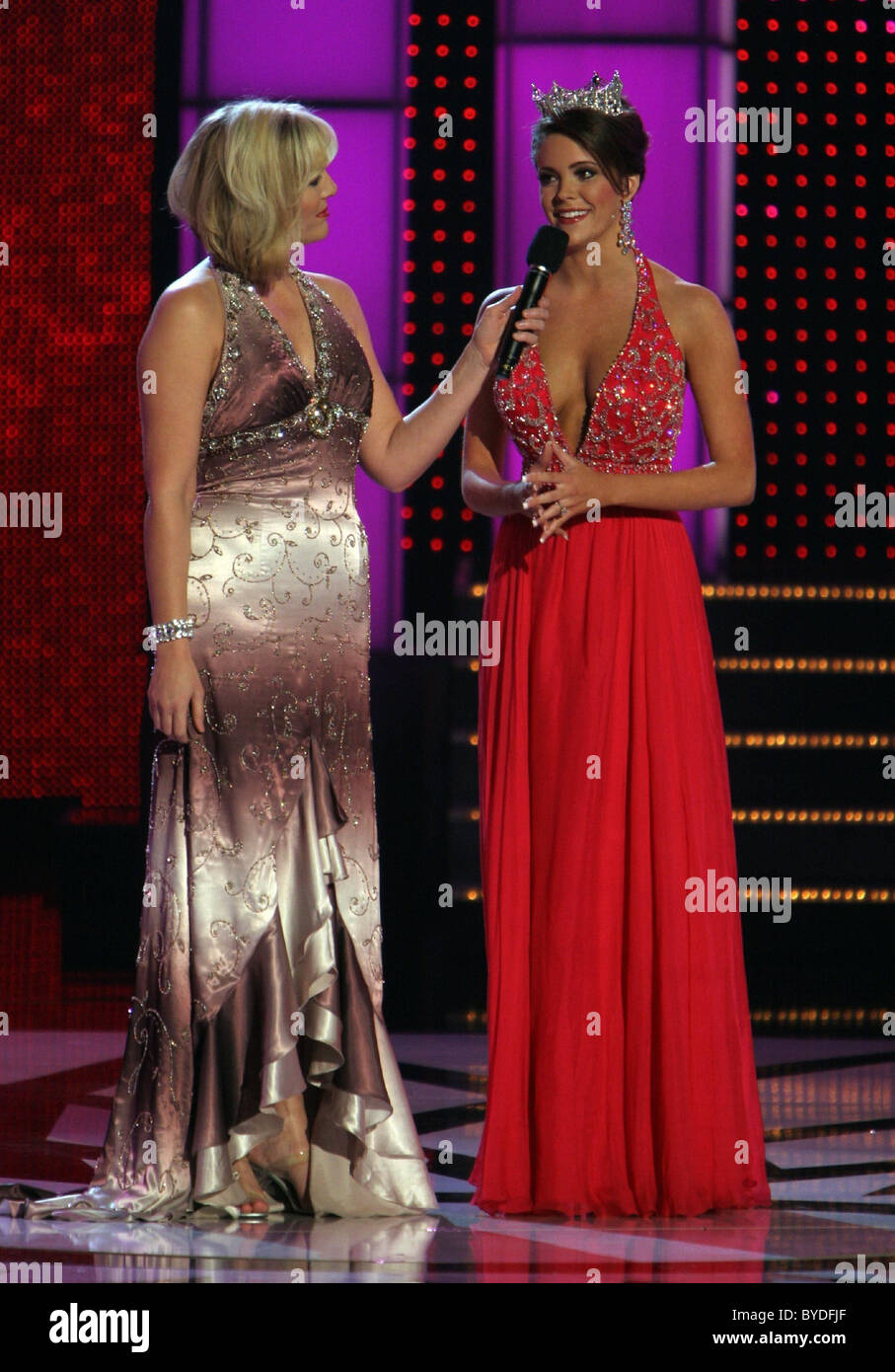 Kellye Cash and Jennifer Berry Miss America Preliminary Competition ...