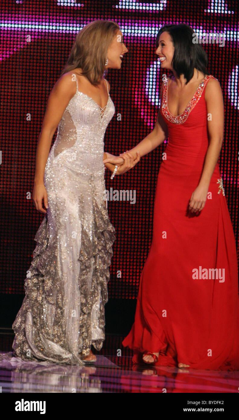 Kellye Cash and Jennifer Berry Miss America Preliminary